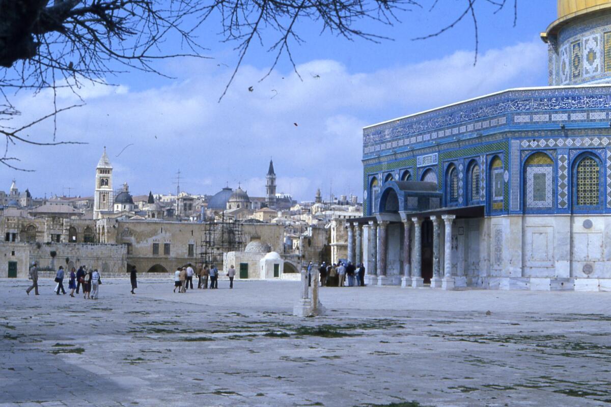 Moschea di Omar a Gerusalemme