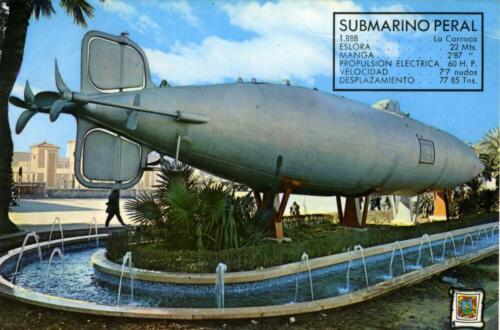 Submarino-1888-Cartagena-Spagna