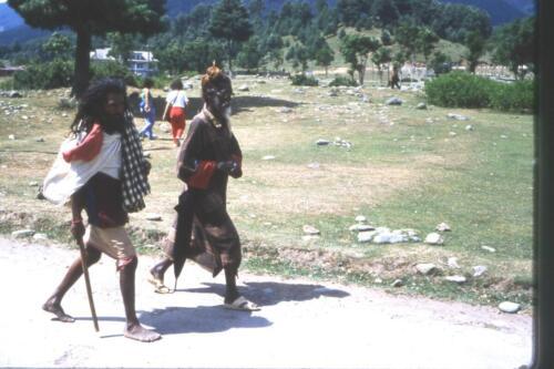 Tipi sulla via di Amarnat