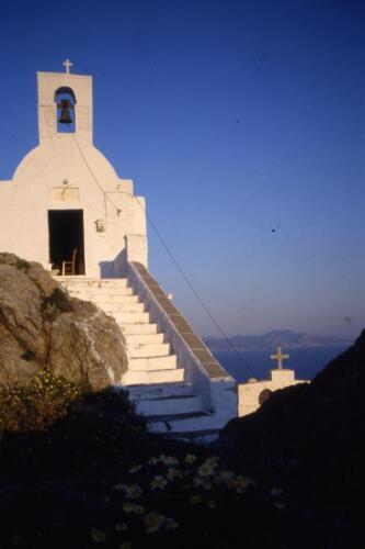Chiesetta su isola greca
