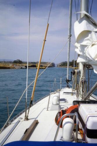 Canale Di Corinto da un miglio