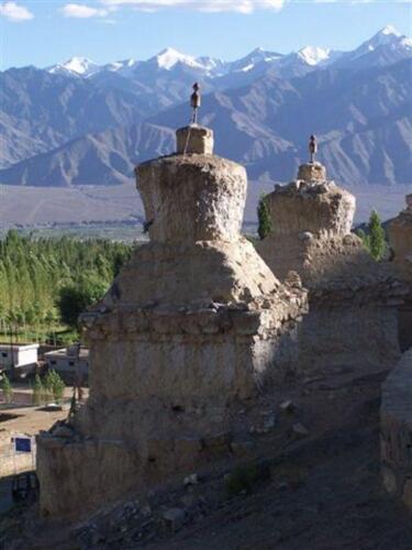 Uno Stupa bellissimo